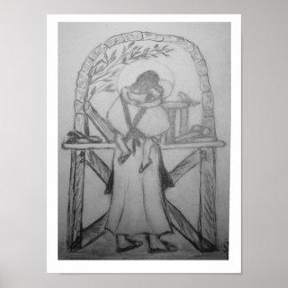 Eine wenig Zeit heraus mit St Joseph Posterdrucke