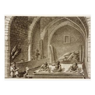 Eine Wolldecke, den Künsten von des Volumen-II und Postkarte