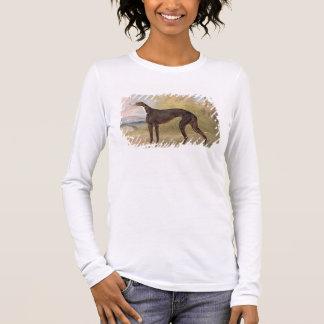 Einer von gewinnenden Windhunden George-Wegfoxs: Langarm T-Shirt