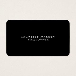 Einfach elegante Blogger-Visitenkarte II Visitenkarten