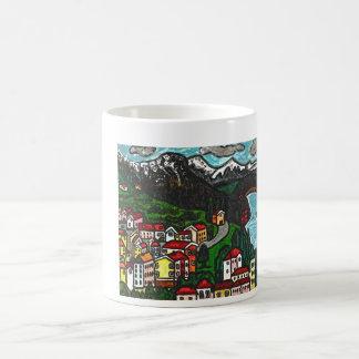 Einfach Schweizer Kaffeetasse