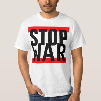 """Einfach stripes Entwurf """"roten ENDkrieg """" Hemden"""