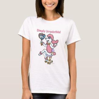Einfach unwiderstehliches rosa Pudel-Shirt T-Shirt
