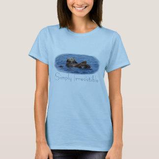 Einfach unwiderstehliches Seeotter-Damen-T-Shirt T-Shirt