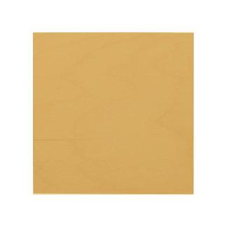 Einfache Aspen-Goldfarbe Holzleinwand
