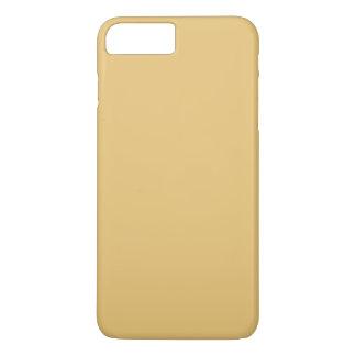 Einfache Aspen-Goldfarbe iPhone 7 Plus Hülle