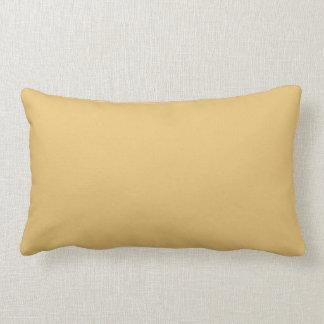 Einfache Aspen-Goldfarbe Kissen