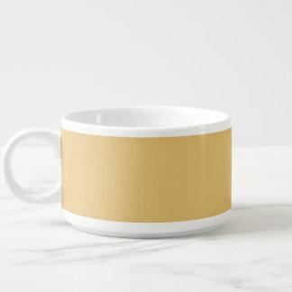 Einfache Aspen-Goldfarbe Kleine Suppentasse