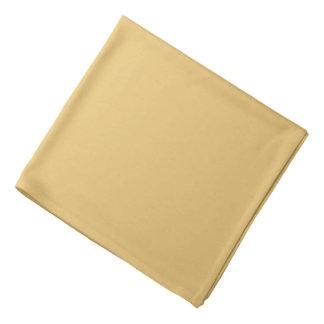 Einfache Aspen-Goldfarbe Kopftuch