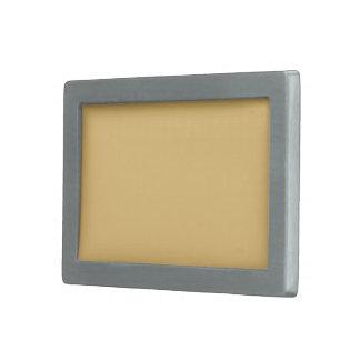 Einfache Aspen-Goldfarbe Rechteckige Gürtelschnalle