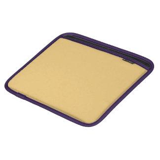Einfache Aspen-Goldfarbe Sleeve Für iPads