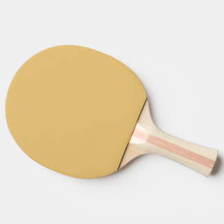 Einfache Aspen-Goldfarbe Tischtennis Schläger