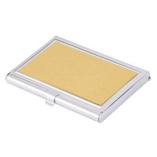 Einfache Aspen-Goldfarbe Visitenkarten-Halter