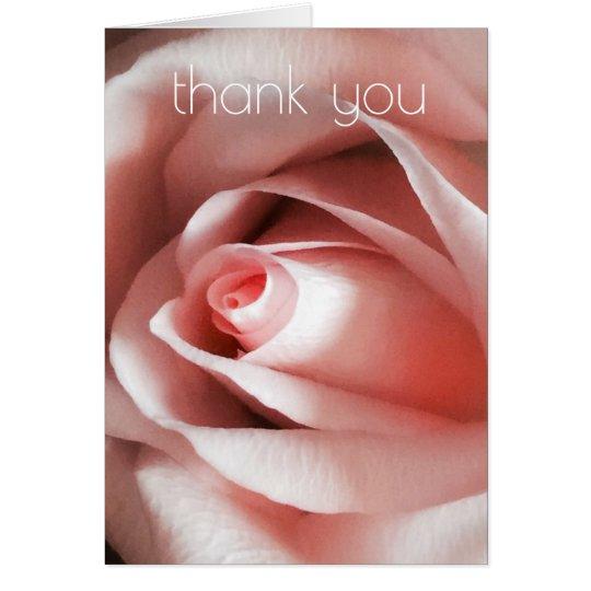 Einfache Eleganz dankt Ihnen zu kardieren Grußkarte