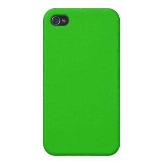 einfache hellgrüne Farbe iPhone 4 Case
