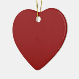 Einfache leere Rot-Schatten DIY addieren Keramik Herz-Ornament