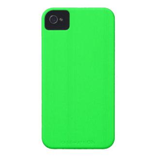 Einfache leere Schablone des Grüns DIY addieren Case-Mate iPhone 4 Hüllen