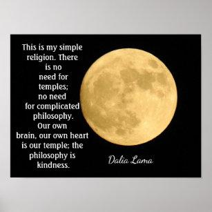 Zitate Dalai Lama Kunst Poster Zazzle At