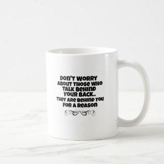 Einfache Typografie-Tasse - Zitat-Tasse Kaffeetasse