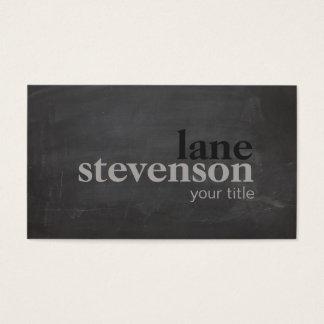 Einfache und moderne mutige Typografie-rustikales Visitenkarte