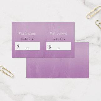 Einfache Visitenkarte