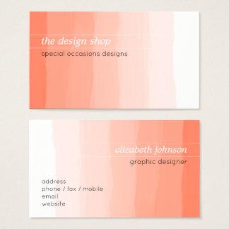 Einfacher eleganter einfacher visitenkarte