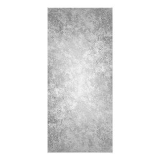 Einfacher grungy grauer Hintergrund Werbekarte