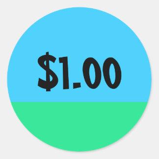 Einfacher Preis-Aufkleber - kundengerecht