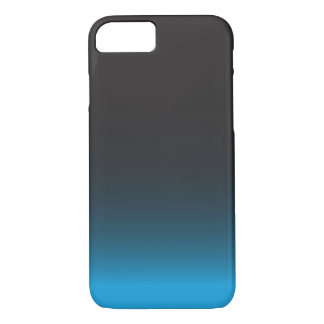 Einfacher schwarzer und blauer iPhone 7 Kasten iPhone 8/7 Hülle