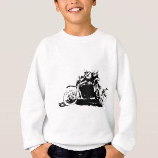 Einfacher Sidecarcross Entwurf Sweatshirt