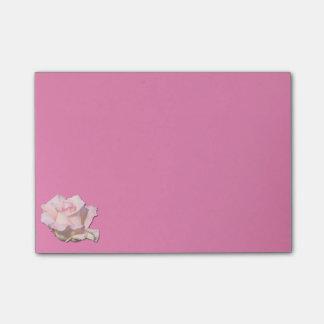 Einfaches aber super niedliches Rose Post-It Post-it Klebezettel