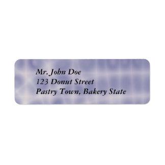 Einfaches Adressen-Etikett Kleiner Adressaufkleber
