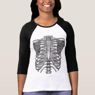 einfaches Halloween-Kostümskelett T-Shirt