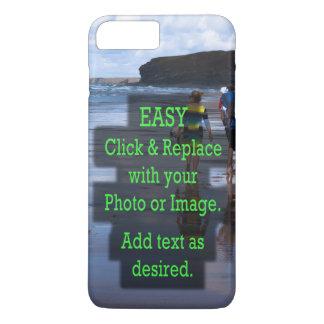 Einfaches Klicken und ersetzt Bild, um Ihre Selbst iPhone 8 Plus/7 Plus Hülle