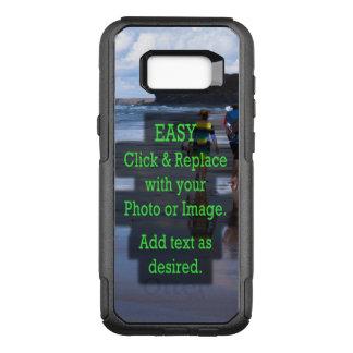 Einfaches Klicken und ersetzt Bild, um Ihre Selbst OtterBox Commuter Samsung Galaxy S8+ Hülle
