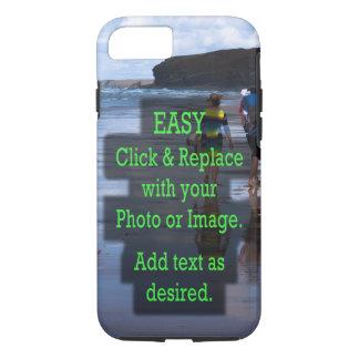 Einfaches Klicken und ersetzt Foto, um Ihre Selbst iPhone 8/7 Hülle
