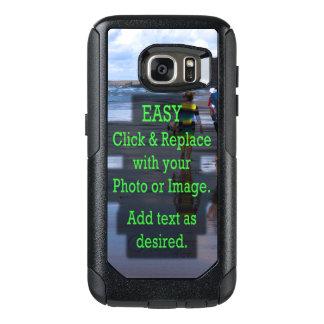 Einfaches Klicken und ersetzt Foto, um Ihre Selbst OtterBox Samsung Galaxy S7 Hülle