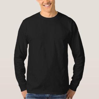 Einfaches Schwarzes lang sleeved > die T-Shirts