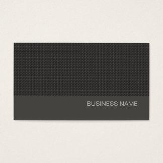 Einfaches schwarzes städtisches modernes visitenkarte