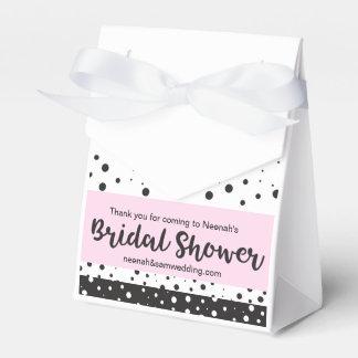 Einfaches Schwarzweiss, Brautparty Geschenkschachtel