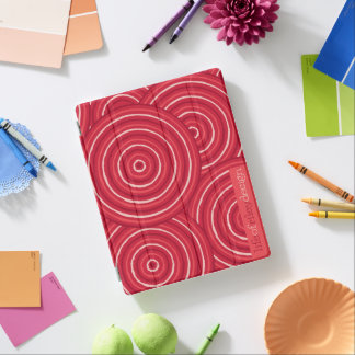 Eingeborene Linie Malerei iPad Abdeckung iPad Hülle