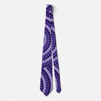 Eingeborene Punktmalerei Bedruckte Krawatten