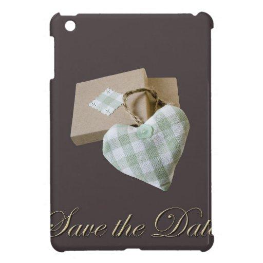 Eingepacktes Herz Save the Date Schutzhülle Fürs iPad Mini