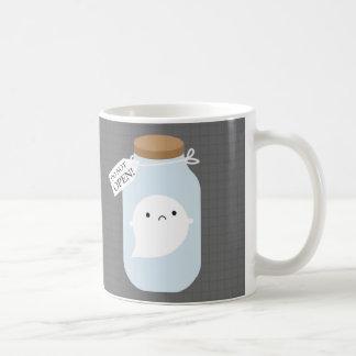 Eingeschlossen wenigem Geist Kaffeetasse