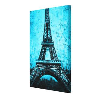Eingewickelte Leinwandkunst Eiffel-Turm-Paris Leinwanddruck