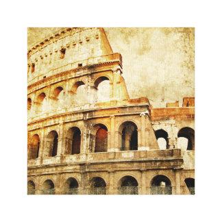 Eingewickelter Leinwand-Druck - altes römisches Leinwanddruck