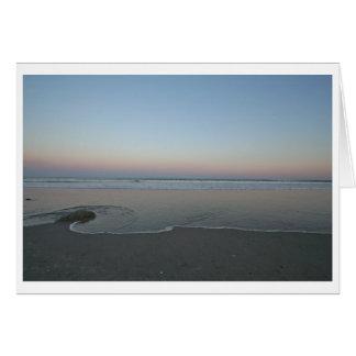 Eingreifen--Ozean und Strand Karte