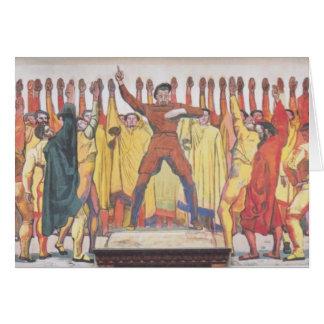 Einheit Ferdinands Hodler- Grußkarte