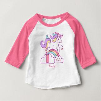Einhorn-1. Geburtstag Baby T-shirt