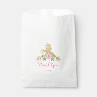 Einhorn-Bevorzugungs-Tasche Geschenktütchen